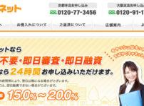 キャネット(京都・大阪・滋賀)はどんな消費者金融? 街金・消費者金融情報