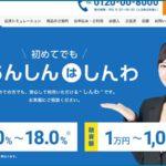 しんわの融資対象は福岡と大阪で即日融資は来店必須。