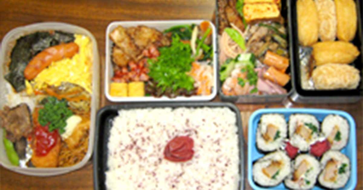 高校生のお昼ご飯〜運動部のお弁当